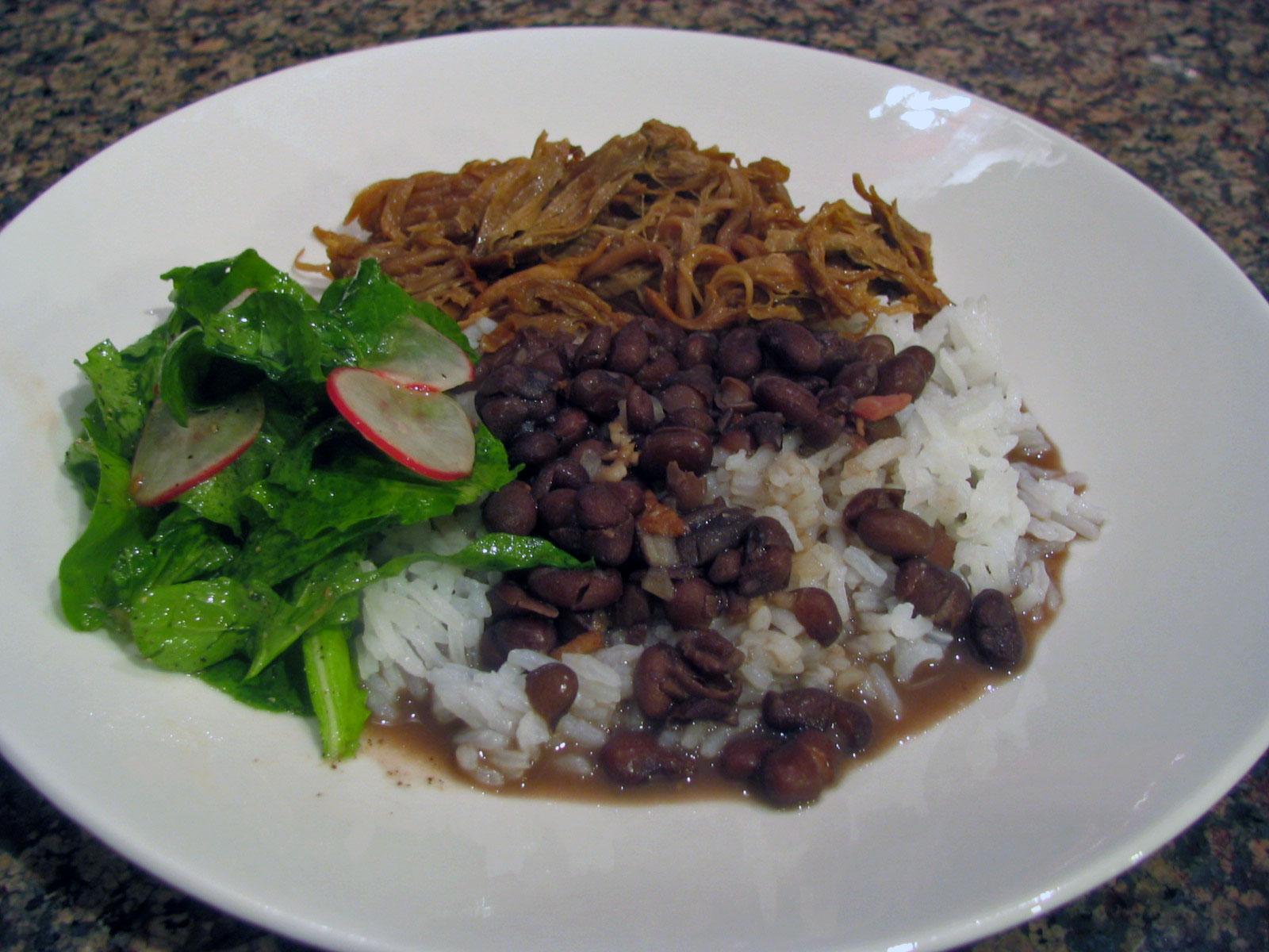 Black beans white rice 5