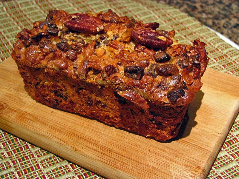 Christmas Fruit Loaf Cake Recipe
