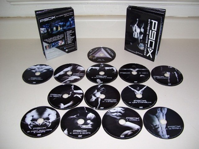 P90X Extreme Home Fitness Disk 1 - Chest and Back (1 dvd)