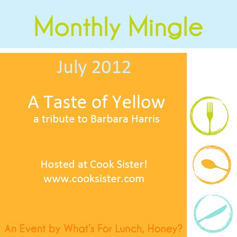 A TASTE OF YELLOW TO HONOR BARBARA (1/4)