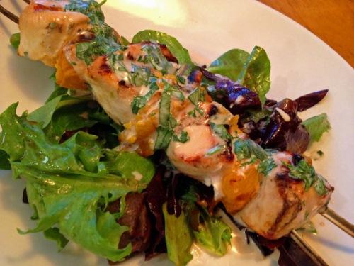 CHICKEN-APRICOT SKEWERS | Bewitching Kitchen