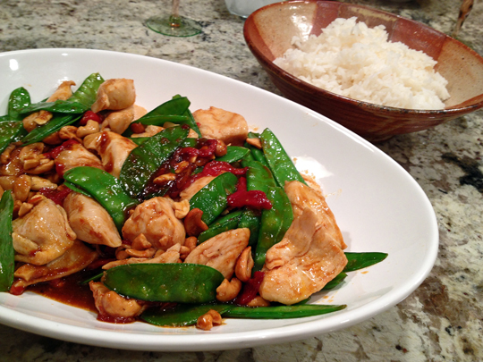 Hoisin Chicken with Cashews