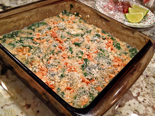 Almond Milk Creamed Spinach