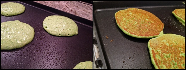 Griddle-side