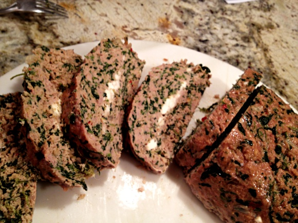 FETA-STUFFED TURKEY MEATLOAF | Bewitching Kitchen