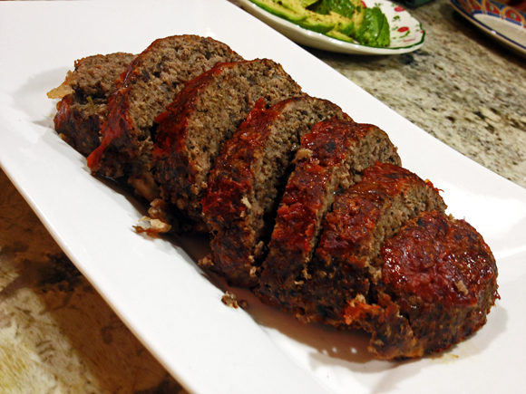 Cremini Meat Loaf