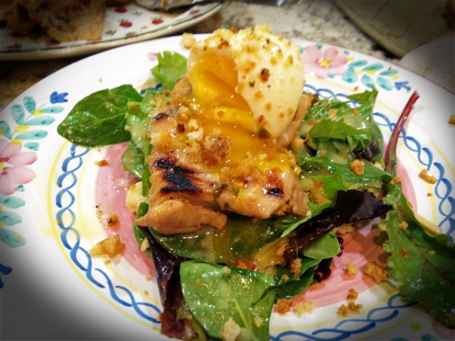 Mustard Grilled Chicken AOC