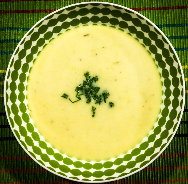 Yellow Squash Soup11