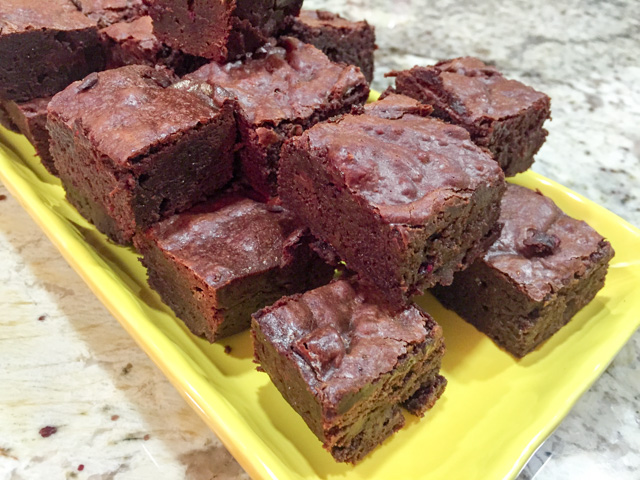 Raspberry Brownies1