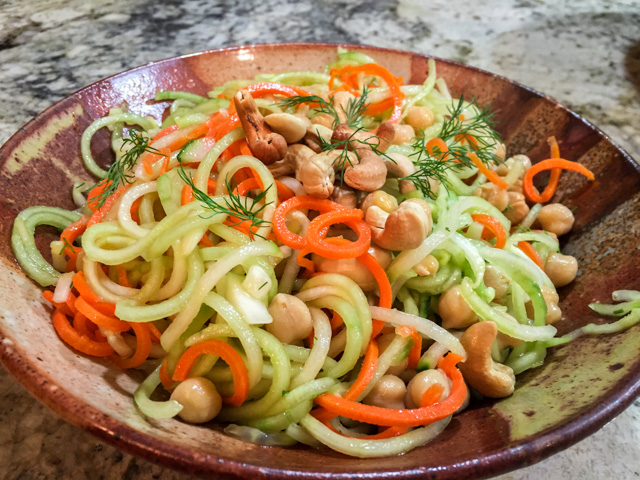 Cucumber Carrot Salad2