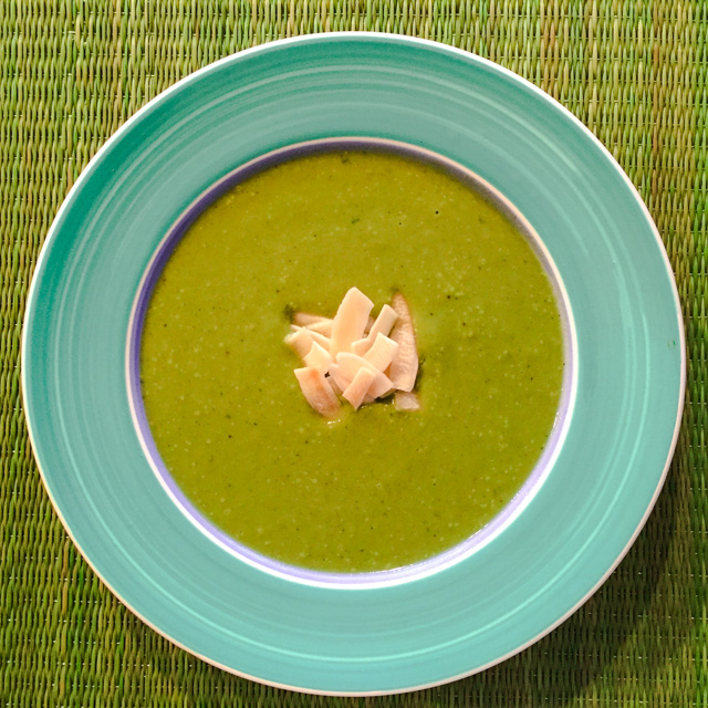 Creamy Zucchini Mushroom Soup