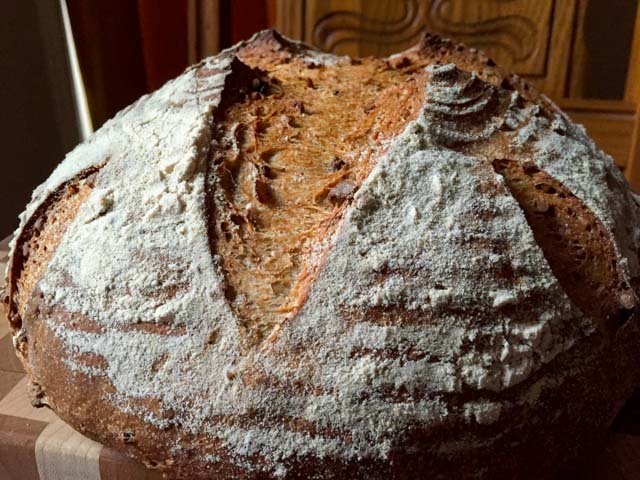 Auberge Pecan Walnut Bread2