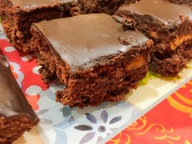 Brownies Glazed