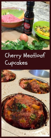 Cherry Meatloaf Cupcakes, from Bewitching Kitchen