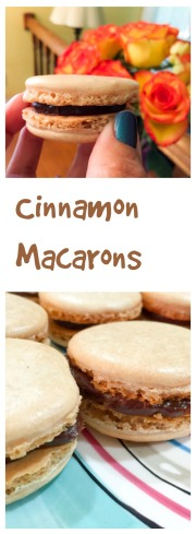 Cinnamon Macarons, from Bewitching Kitchen