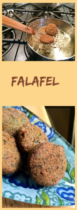 Falafel, from Beiwtching Kitchen