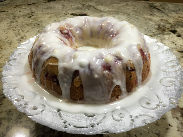 Fresh Strawberry Bundt Cake