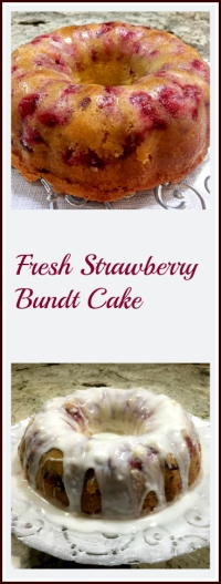 Strawberry Bundt Cake, from Bewitching Kitchen