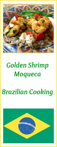 Golden Shrimp Moqueca, from Bewitching Kitchen