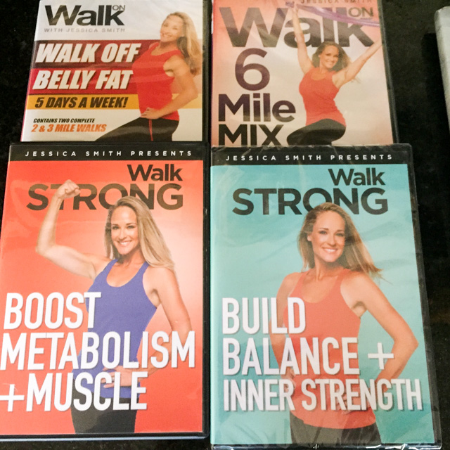 MY NEW FITNESS PROGRAM: JESSICA SMITH'S WALK STRONG | Bewitching Kitchen