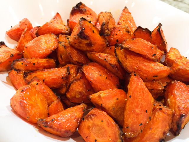 Air Fried Carrots Two Ways Bewitching Kitchen