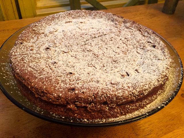 Pati Jinich S Flourless Chocolate Pecan Cake Bewitching