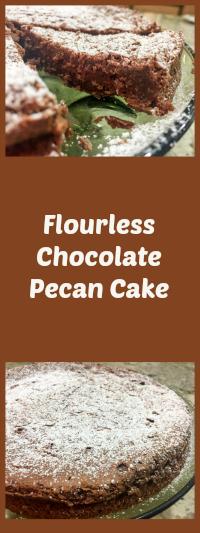 Pati Jinich Chocolate Pecan Cake