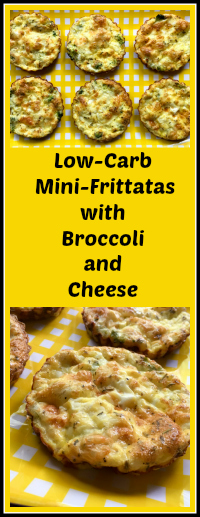 MINI-FRITTATAS WITH BROCCOLI AND CHEESE | Bewitching Kitchen