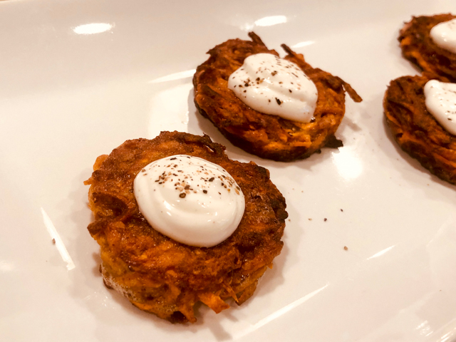 Curried Sweet Potato Fritters Bewitching Kitchen